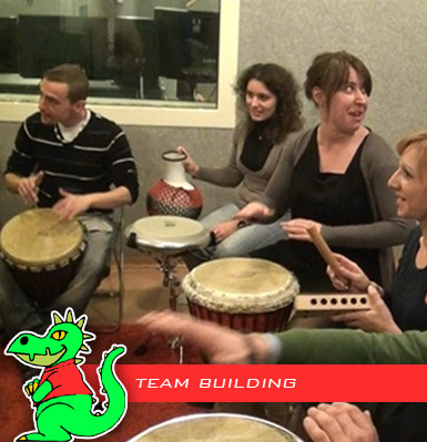 Team Building e Team Drumming
